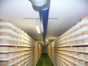 Kienzler-Luftschlauch-Lebensmittelindustrie-13Kienzler-Luftschlauch-Krankenhaus-Labor-03-Textilluftschlauch-Luftverteilsystem