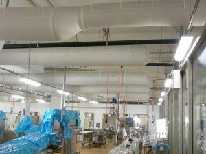 Kienzler-Luftschlauch-Lebensmittelindustrie-15Kienzler-Luftschlauch-Krankenhaus-Labor-03-Textilluftschlauch-Luftverteilsystem